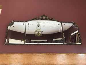Antique Ornate mantle Mirror for Sale in Knoxville, TN
