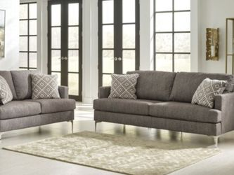 Arcola Java Sofa & Loveseat Living Room Set by Ashley☑️Instock ♨️New ☘️ for Sale in Silver Spring,  MD