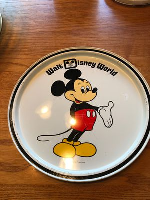 Walt Disney World tin platter for Sale in Uniontown, OH