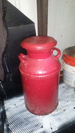 Old milk container. With lid... for Sale in Phoenix, AZ