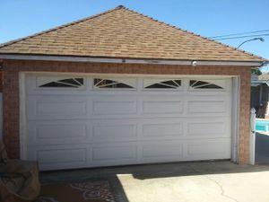 Garage Door w/ tracks for Sale in Inglewood, CA