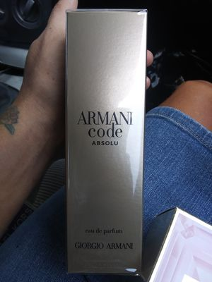 Armani Code Absolu for Sale in San Antonio, TX