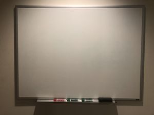 Large Dry Erase White Board for Sale in Chicago, IL