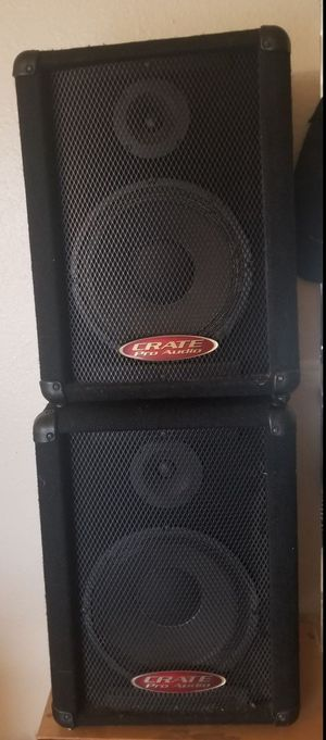 Crate Pro Audio PE10T Speaker Cabinet (pair) (10s and Horn) for Sale in National City, CA
