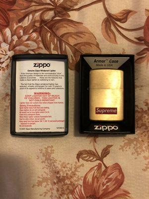 Supreme Gold Zippo for Sale in Garden Grove, CA