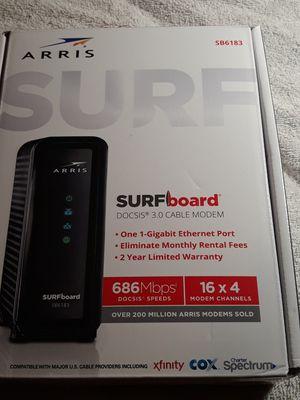 Net gear surf board cabel modem for Sale in Washington, UT