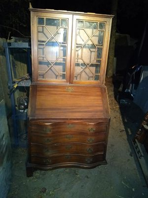 Vintage Mohagany Secretary desk for Sale in Pinehurst, TX