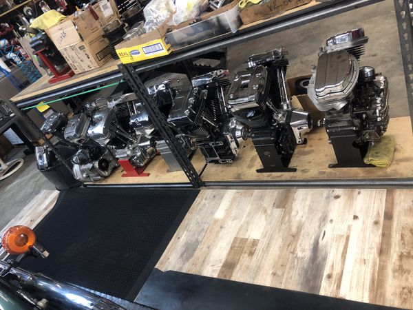 Harley-Davidson, Star Hub, Panhead Shovelhead Knucklehead wheels motors engines rebuilt