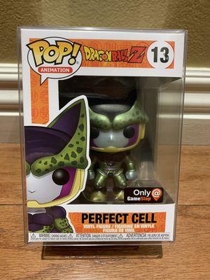 Funko Pop! Dragonball Z DBZ Metallic Perfect Cell GameStop Exclusive for Sale in Cypress, CA