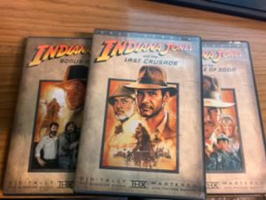 Indiana Jones Movie Colection for Sale in Los Angeles, CA