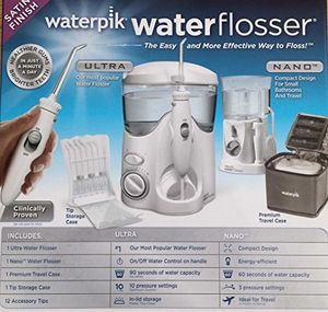 Waterpik Ultra Plus and Cordless Select Water Flosser Combo Pack NEW for Sale in Fort Lauderdale, FL