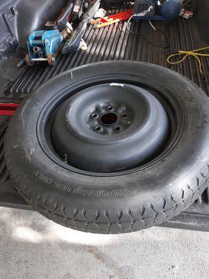 Temporary Bridgestone spare tire with rim for Sale in Fort Pierce, FL