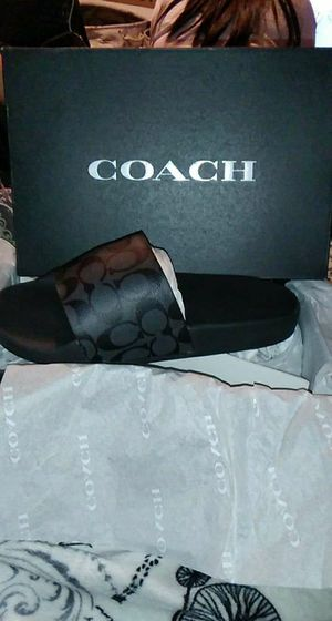 Slides and wallet COACH brand new for Sale in Chandler, AZ
