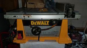 Dewalt table saw for Sale in Marietta, GA