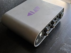 A portable 2x2 USB bus-powered audio interface for Sale in Porter Ranch, CA