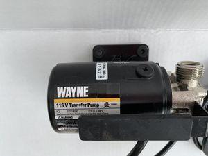 Wayne transfer pump for Sale in Marietta, GA