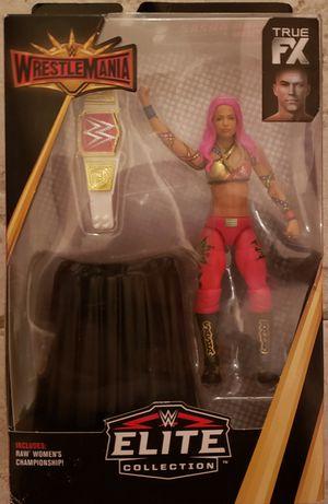 New WWE ELITE COLLECTION Sasha Banks Action Figure. for Sale in Apopka, FL