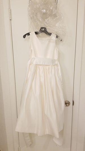 Girls satin dress/ flower girl for Sale in Austin, TX