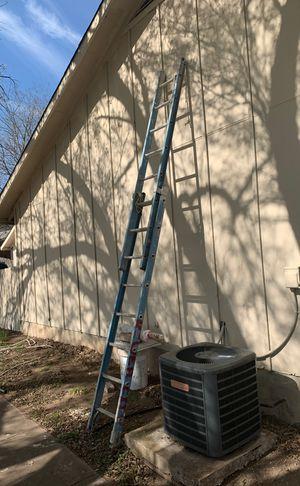16 foot blue fiberglass extension ladder for Sale in Austin, TX