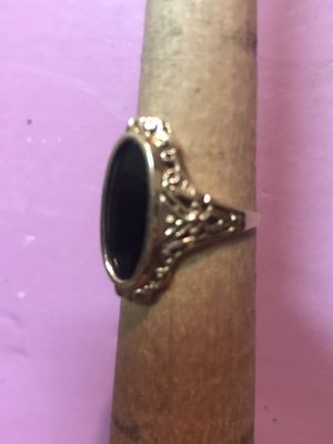 Gold & Black Onyx Size 7 for Sale in Brighton, CO