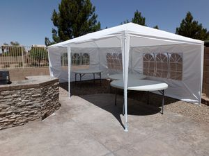 10×20 party tent 🎪 sombra carpa for Sale in Phoenix, AZ