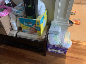 Baby diaper lot size 1 for Sale in Vancouver, WA