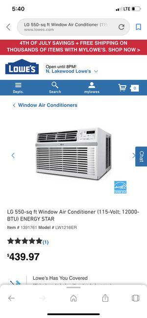Window AC LG for Sale in Denver, CO