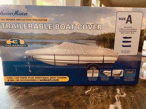 Harbor Master Trailerable Boat Cover NEW Size A for Sale in San Antonio, TX