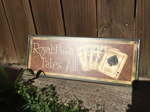 Poker picture for Sale in Carrollton, TX