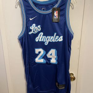 Kobe Bryant #24 Blue 2021 Los Angeles Lakers Jersey for Sale in Los Angeles, CA