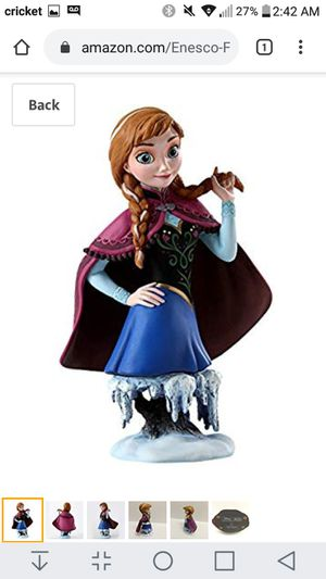 Enesco #4042561 Frozen Anna Figurine Disney Grand Jester Studios - New for Sale in Lacey, WA