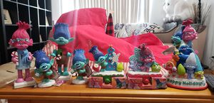 Trolls christmas decorations for Sale in Long Beach, CA