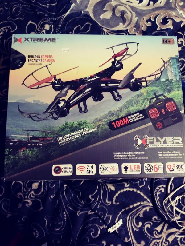 Black Xtreme drone with Camera