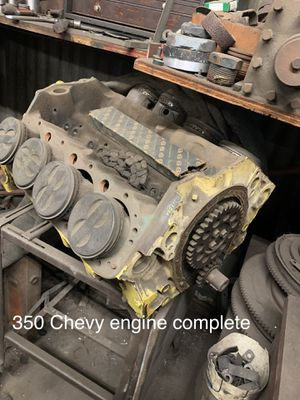Complete Chevy 350 engine-vintage Chevrolet Classic car parts etc. Make Offer!! for Sale in Long Beach, CA