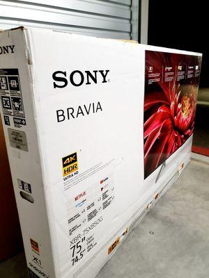 "Sony 75"" Xbr Triluminos Display 240hz 2160p!! Smart Tv UHD HDR 4K for Sale in Gilbert, AZ"