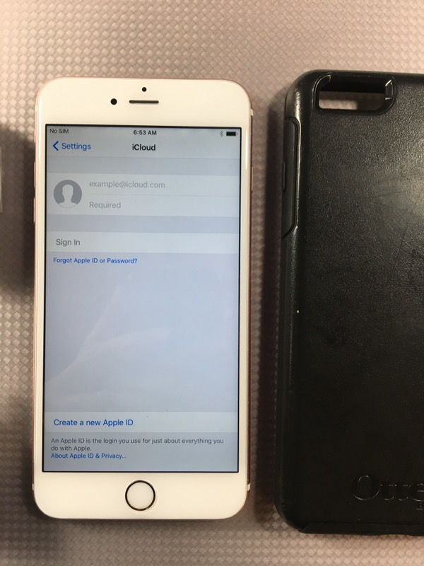 Iphone 6sp plus 16gb Rose gold tmobile and metro pcs carrier for Sale in  Hayward, CA - OfferUp