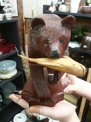 A Hand Carved Bear for Sale in Sunbury, OH
