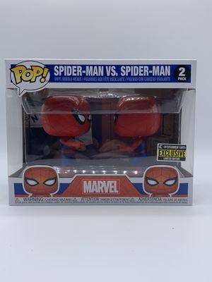 Spider-man Vs Spider-man Funko pop for Sale in San Antonio, TX