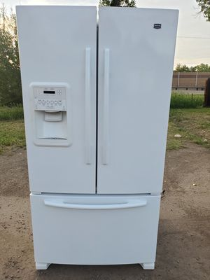 Maytag white fridge good working conditions for Sale in Wheat Ridge, CO