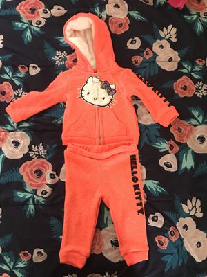 Hello kitty baby sweat suit for Sale in Washington, DC