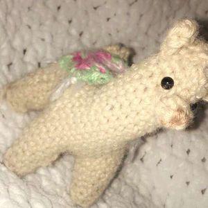 crochet stuffed animal llama for Sale in Keller, TX