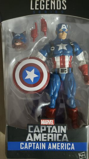 Marvel Legends Avengers Captain America Rocket Raccoon for Sale in Chicago, IL