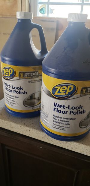 Zep wet look floor polish for Sale in Chattanooga, TN
