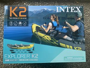 Kayak for 2 people / Comes with Paddles and Pump NEW for Sale in Los Angeles, CA