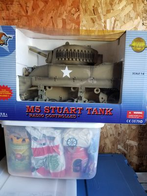 Tank. New. Radio. Control. Never. Out. Of. Box. 1/6 , scale for Sale for sale  Clinton, IA