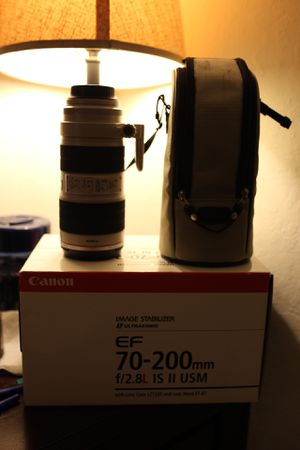Canon 70-200 2.8 IS II for Sale in Alameda, CA