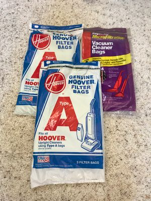 14 New Hoover Upright Vacuum Cleaner Filter Bags for Sale in Corona, CA