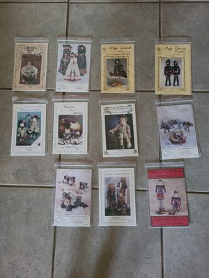 11 assorted craft patterns for Sale in Lemoore, CA