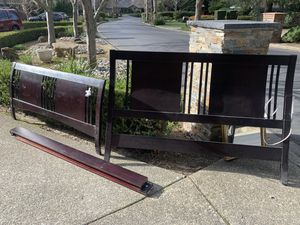 Free California King bed frame for Sale in Danville, CA