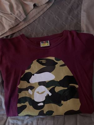 bape shirt for Sale in Perris, CA